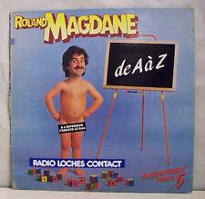 "33 tours Roland MAGDANE LP 12"" DE A a Z Zizi JE RECAPEPETTE - FLARENASCH 723.677"