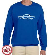 1965 1966 Plymouth Sport Fury Hardtop Outline Design Sweatshirt NEW