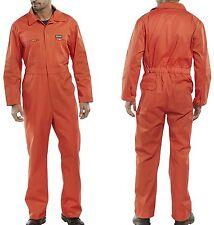 Rally Kombi Overall orange 42-68 Arbeitsoverall Arbeitsanzug Rallykombi Ralley