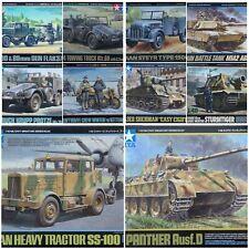 Tamiya 1/48 Military Vehicles & Figures New Plastic Model Kit  1 48