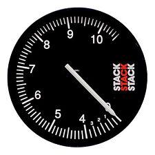 Stack ST430 registrazione CONTAGIRI / REV COUNTER BLACK FACE Dial 125mm-Race / Rally
