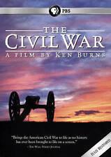 Ken Burns PBS The Civil War 25th Anniversary DVD (2015) 6-Disc Set *New*