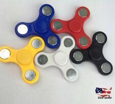Tri Fidget Hand Spinner Ball Desk Toy ADHD EDC Stocking Stuffer Kids or Adults