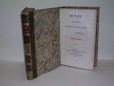 Joseph de Maistre Du Pape Edition originale 1819 Révolution Franc maçonnerie