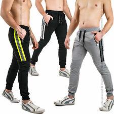 Pantaloni Tuta Uomo Sportivi Fitness Palestra Sport Allenamento Passeggio Casual