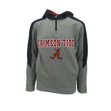 Alabama Crimson Tide NCAA Kids Youth Size Hooded Quarter Zip Sweatshirt New Tags