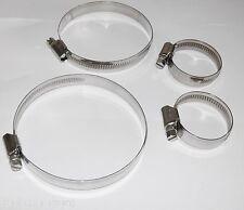Schlauchschellen DIN 3017 Edelstahl V2A Schlauchklemmen 9mm 12mm Bandbreite