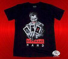 New Batman Classic Joker Deadman's Hand Mens T-Shirt