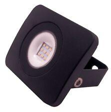 LED FLOOD LIGHT PIR 10 20 30 50 WATT SLIMLINE OUTDOOR IP65 SECURITY GARDEN BLACK