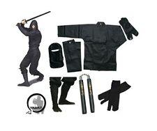 Ninja Uniform Deluxe Set / Martial Arts- Tabi Boots - Socks - Chucks