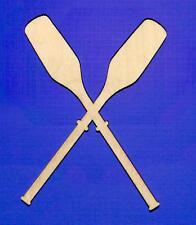 Oars Unfinished Wood Shape Cut Out O11248 Laser Crafts Lindahl Woodcrafts