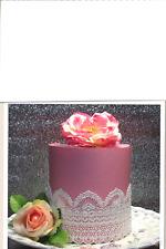 3 L EDIBLE SUGER LACES Wedding Anniversary Babyshower Birthday CAKE CUPCAKE TEA