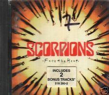 SCORPIONS FACE THE HEAT INCLUDES 2 BONUS TRACKS CD