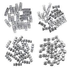 20Pcs Barrel Screw Clasps - Jewelry Necklace & Bracelet DIY Craft Findings
