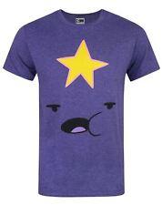 Adventure Time Lumpy Space Princess Men's T-Shirt Purple