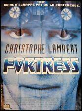 FORTRESS Affiche Cinéma Movie Poster CHRISTOPHE LAMBERT