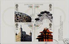 Gran Bretaña Juegos Olímpicos de 2008 Minipliego Fine Used