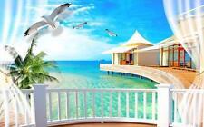 3D Tropical 01 Blockout photo rideau impression Rideaux rideaux Fenêtre Tissu FR