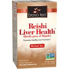 BRAVO Thé Reishi Santé Du Foie thé boisson saine fonctions hépatiques