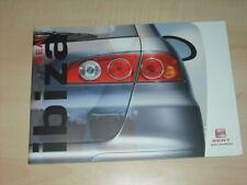 31710) Seat Ibiza Farben & Polster Prospekt 2003