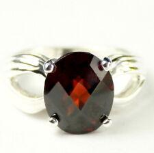 MOZAMBIQUE GARNET 4.5 carat Sterling Silver Ladies Ring -Handmade • SR361