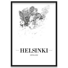 TOURISM HELSINKI FINLAND TUOMIOKIRKKO CATHEDRAL SHIP NEW ART PRINT POSTER CC4409