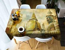 Massive Sculpture 3DTablecloth Table cover Cloth Rectangle Wedding Party Banquet