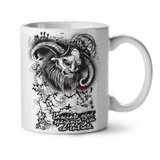 Devil Satana Inferno Teschio Nuova Tazza da Caffè Tè Bianco 11 OZ (ca. 311.84 g)   wellcoda