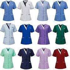 Nurses Tunic Uniform Vet Salon Beauty Medical Dental Therapist Healthcare ladies