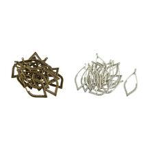 20 x Silber Anhänger Damen Mode Schmuck Zubehör für Halsketten, Armbänder