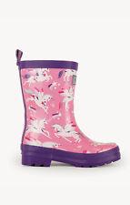 Girls Hatley Pink Unicorns Rain boots