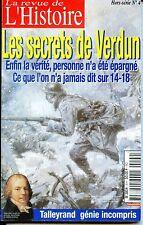 LES SECRETS DE VERDUN - La revue de l'Histoire Hors-Série N°4 - Guerre 14-18