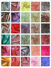 "Polka Dot Cotton Poplin Dress Fabric Material - 3mm Spot - 44"" (112cm)"