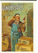 BISQUIT DUBOUCHE & CO. COGNAC 1900 ON POSTCARD 1969 (DA106)