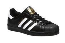 Adidas Originals Superstar 2 Foundation Black B27140 Leather Men Shoes
