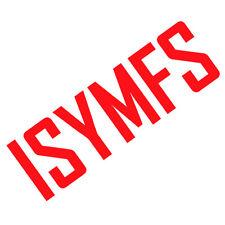 ISYMFS Aufkleber 3M Scotchlite Reflektierend VA Farben 680 CT Fletcher Fitness