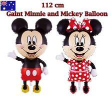 112CM BIRTHDAY MICKEY MINNIE MOUSE THEME BALLOON FOIL PARTY DECOR KID BABY TOY