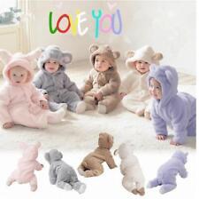 Baby Unisex Infant Toddler Romper Outfit Bodysuit Warm Velet Soft Suit Sets