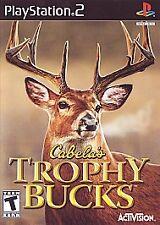 Cabela's Trophy Bucks (PlayStation 2, 2007) - Complete.