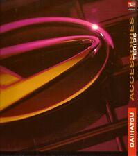 DAIHATSU TERIOS ACCESSORI 1997-2000 Regno Unito delle vendite sul mercato opuscolo