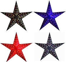Estrella de papel Luz Decoración Navidad lichtstern Lámpara Ventana