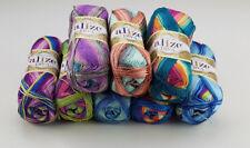 100g ALIZE Diva Batik Türkische Wolle fantastischer Farbverlauf Seideneffekt