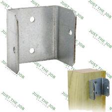 Fence Panel Clip - Galvanised 44mm or 50mm - Bracket Trellis Fixing Garden Post
