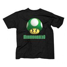 MUSHROOMHEAD GREEN PRINT MARIO KART VIDEO GAME NINTENDO CARTOON TEE SHIRT S-3XL