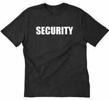 SECURITY T-shirt Funny Hilarious Bar Bouncer Tee Shirt S-5XL