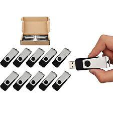 10x USB Flash Drive Metal Key 4GB Pendrive High Speed Memory Thumb Stick USB 2.0