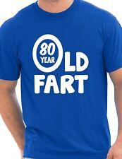 80 Aniversario 80 Año Viejo Funny Adulto Para Hombre Cumpleaños Regalo Camiseta S-XXL