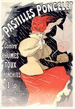 Vintage French Art Nouveau Shabby Chic Prints & Posters 106 A1,A2,A3,A4 Sizes