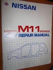 Nissan M11 PRAIRIE 1989... : body repair manual