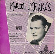 EP 4 TITRES--MARCEL MERKES--VIOLETTES IMPERIALES--50'